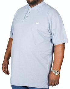 Bigdude Klassisches Poloshirt Hellblau