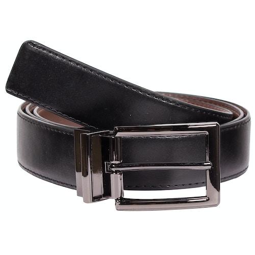 Arthur Leather Reversible Belt Black/Brown