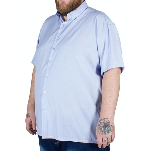 Fitzgerald Kurzarm Hemd Spain Blau