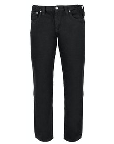 Bigdude Elasticated Waist Jeans Black