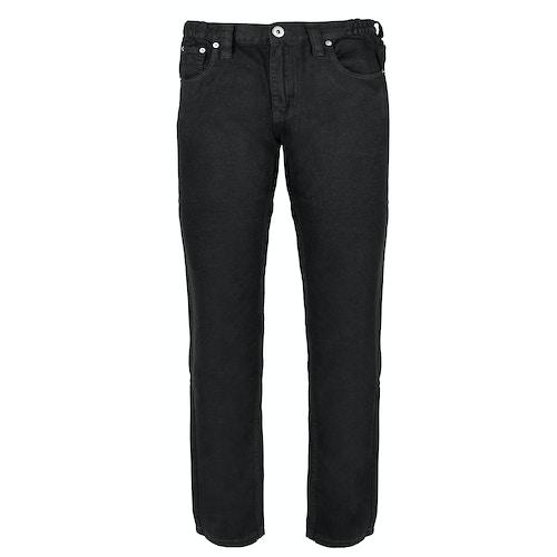 Bigdude Elasticated Waist Jeans Black