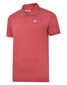 Bigdude Jersey Poloshirt Weinrot