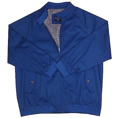 Espionage Harrington Jacket Royal Blue
