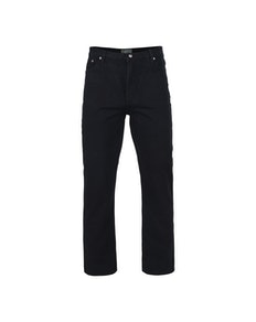 KAM Tall Fit Jeans Black