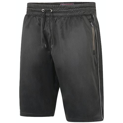 KAM Tricot Fabric Sport Shorts Black