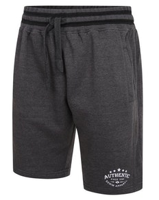 KAM Authentic Print Jogging Shorts Grau