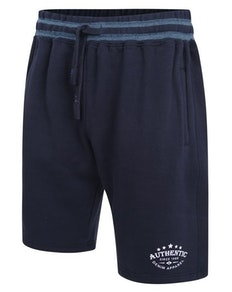 KAM Authentic Print Jogging Shorts Blau