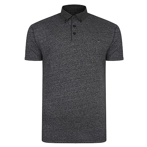 KAM Smart Look Poloshirt Schwarz