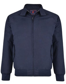 KAM Harrington Steppjacke Marineblau