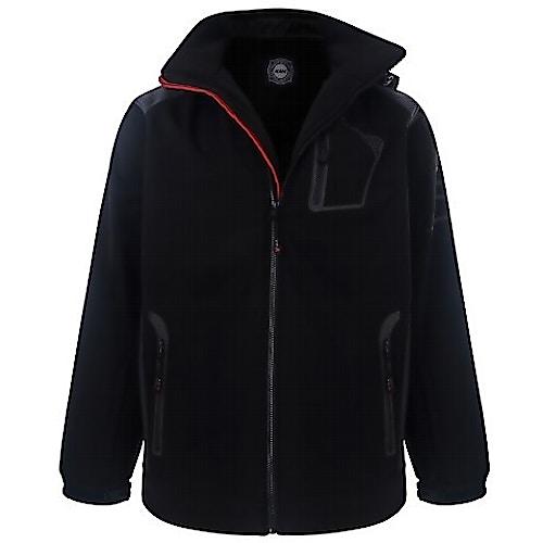 KAM Soft Shell Perfomance Jacket Black