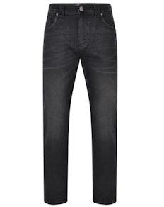 KAM Stretch Fashion Jeans Black