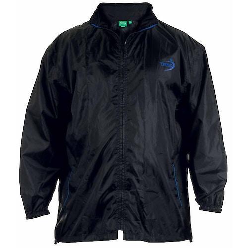 D555 Zac Packaway Rain Jacket - Black