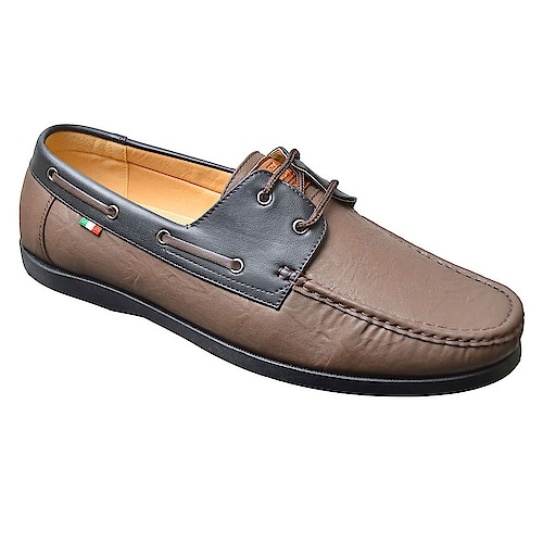D555 Burch Boat Shoe Brown