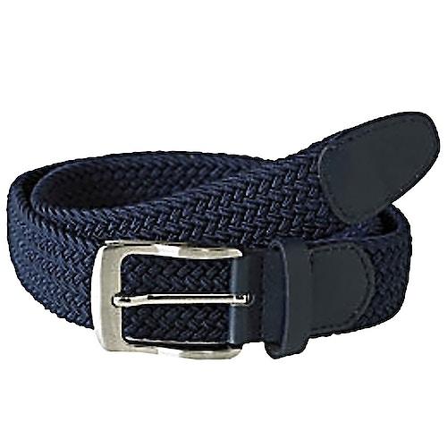 D555 Dani Stretch Braided Belt Navy