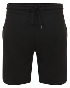 Bigdude Loop Back Jogger Shorts Black