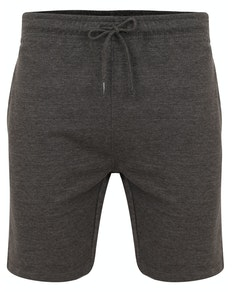 Bigdude Loop Back Jogger Shorts Charcoal