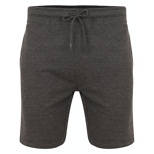 Bigdude Loop Back Jogger Shorts Charcoal
