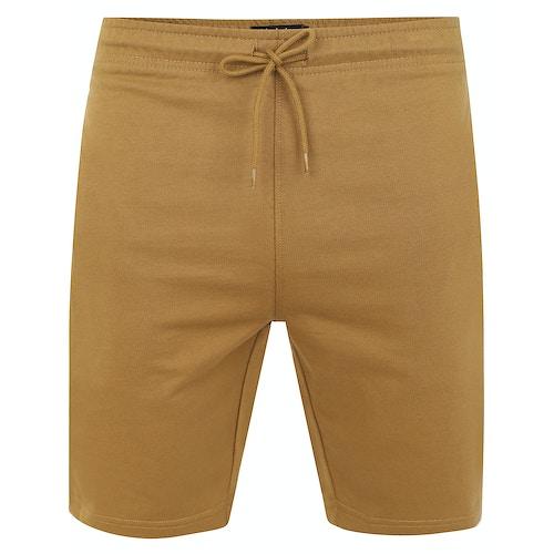 Bigdude Loop Back Jogger Shorts Khaki