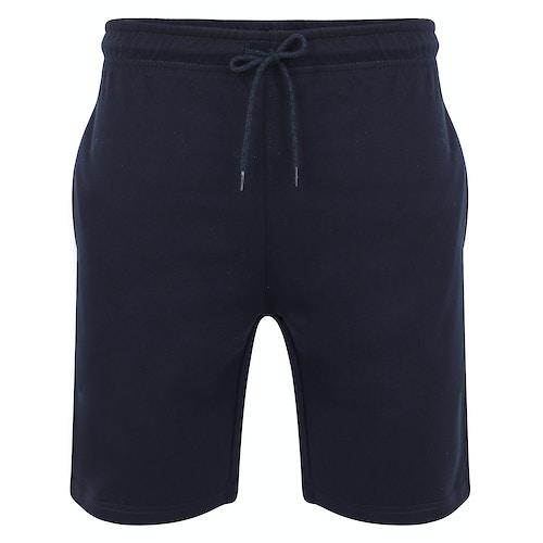 Bigdude Loop Back Jogger Shorts Navy