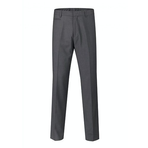 Skopes Superfine Twill Trousers Charcoal