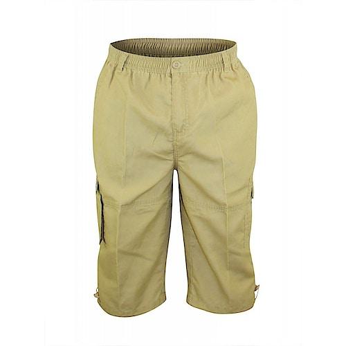 D555 Mason Sand Cargo Capri Pant with Leg Pocket