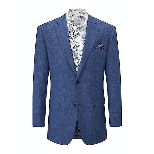 Skopes Corallo Textured Blazer Blue