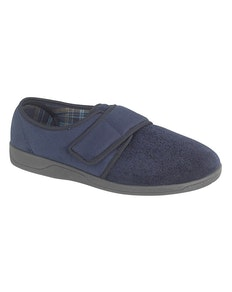 Sleepers Tom Memory Foam Slippers Navy