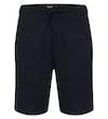 Leinen Shorts Marineblau