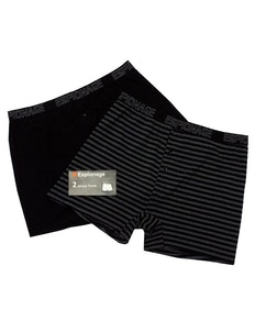 Espionage Jersey Trunk Twin Pack
