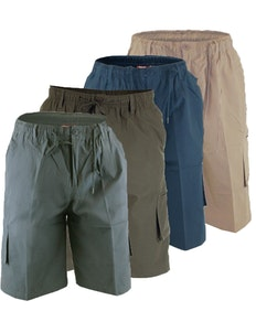 D555 Knee Length Cargo Shorts