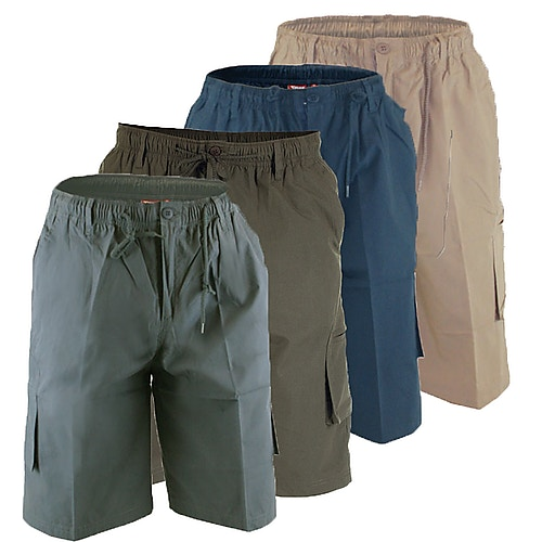 D555 Knee Length Cargo Shorts
