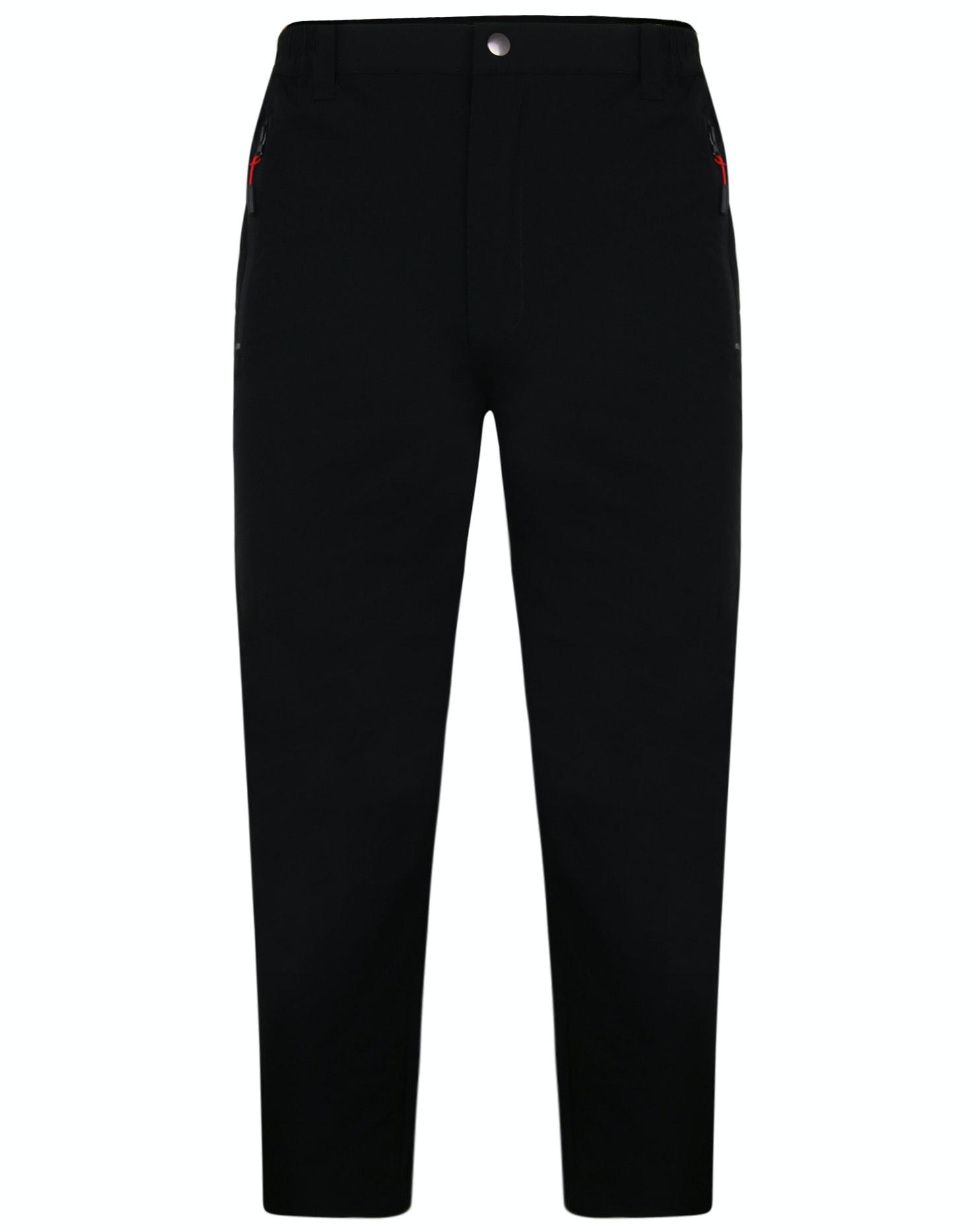 Men/'s Trousers Wide Cut Black 44-52 Selectable