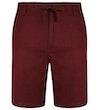 Leinen Shorts Weinrot