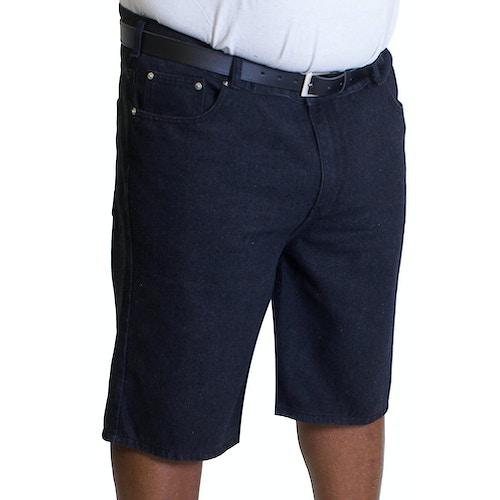 Bigdude Lightweight Denim Shorts Black Wash