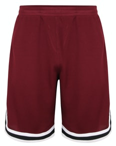 Bigdude Performance Shorts Weinrot
