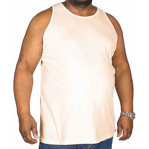 Bigdude einfarbiges Tanktop Hellrosa
