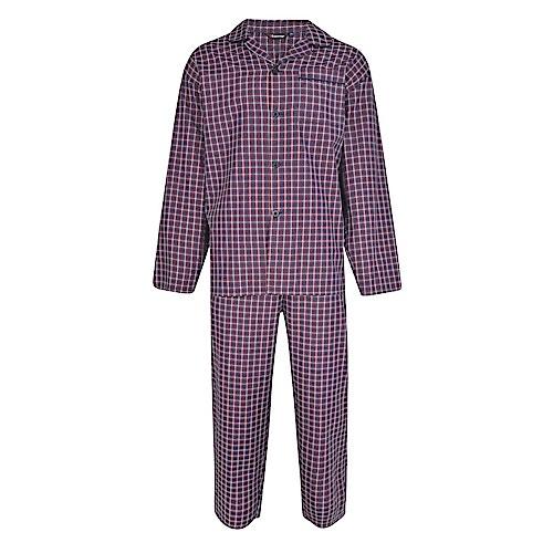 Espionage Check Pyjamas Navy/Red