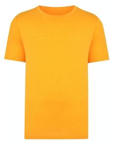 Bigdude Plain Crew Neck T-Shirt Orange Tall