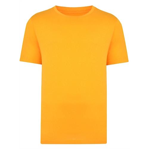 Bigdude klassisches T-Shirt mit Rundhalsausschnitt Orange Tall Fit
