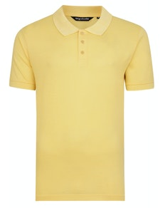 Bigdude Plain Polo Shirt Yellow Tall