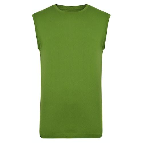 Bigdude Plain Sleeveless T-Shirt Desert Cactus