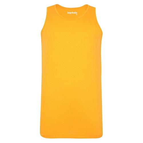 Bigdude Plain Vest Orange