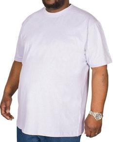Bigdude Plain Crew Neck T-Shirt Purple