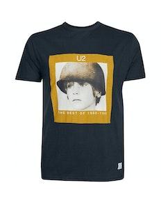 Replika U2 T-Shirt Schwarz
