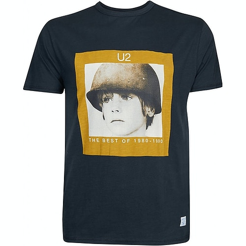 Replika U2 Tribute T-Shirt Black
