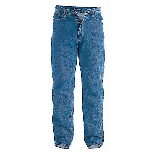 Duke Rockford Comfort Fit  Blue Stonewash Jeans