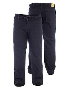 Hohe Duke Rockford Dunkle Komfor Passform Jeans