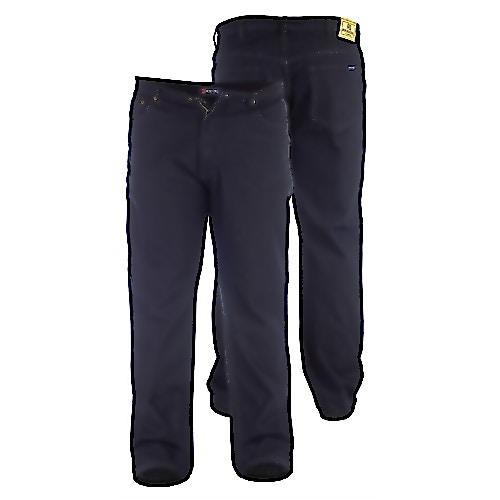Duke Rockford Dunkle Bequeme Passform Jeans
