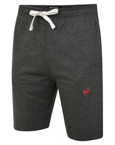 Bigdude Signature Jogger Shorts Charcoal