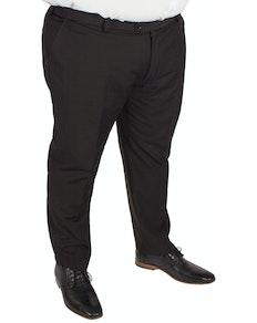 Skopes Anzughose aus Twill-Baumwolle Schwarz